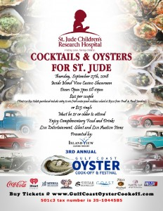 OysterFest-St-Jude-Charity-Event poster